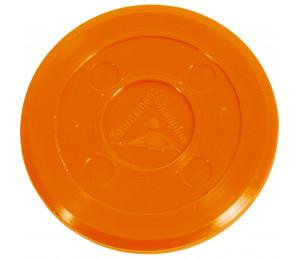 Palet Air Hockey Professionnel 70 mm (Orange)