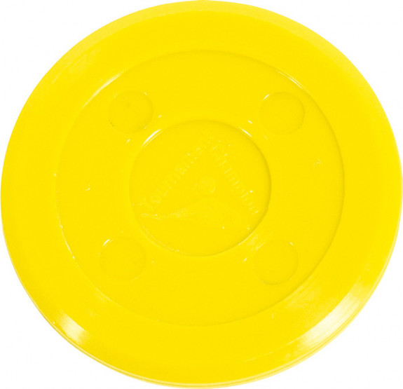 Palet Air Hockey Professionnel 70 mm (Jaune)
