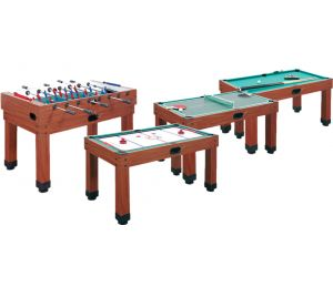 Table Multi jeux billard Garlando Multi Pro 9 en 1