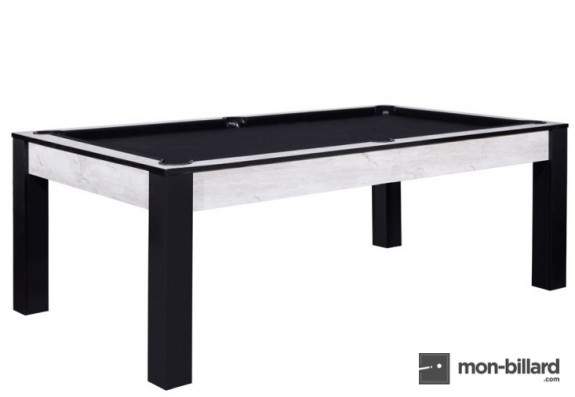 Billard convertible Delhi Marbre 6 ou 7FT
