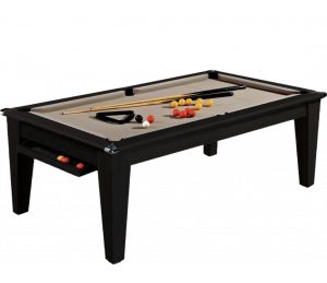 Billard Convertible Supreme York Noir 6 ou 7FT