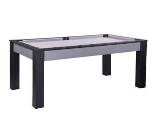 Billard convertible Delhi Gris 6 ou 7FT