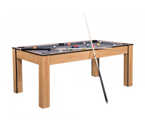 Billard convertible Delhi Bois Clair 6 ou 7FT