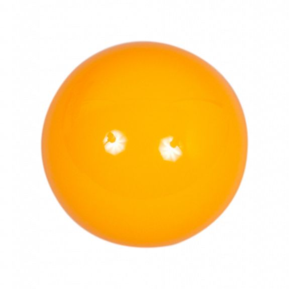 Bille jaune polyester A1 - Ø 50 mm