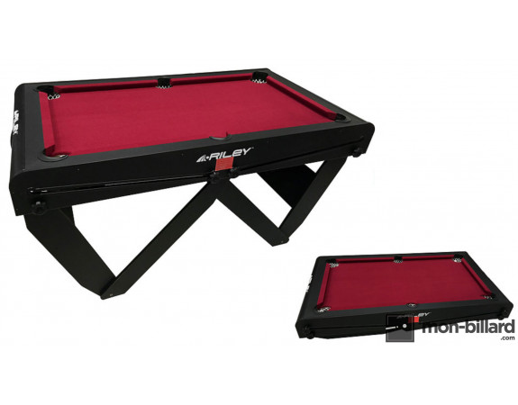"Billard Pliable Riley ""W"" 5ft Noir"