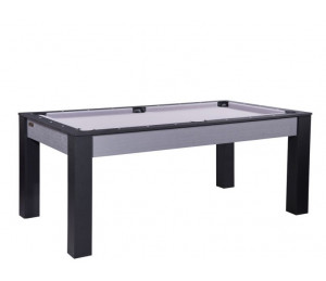 Billard convertible Delhi Gris 6FT