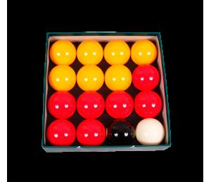 Jeu de billes Anglais Aramith casino - ø 57,2 mm