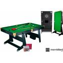 Billard Pliable Riley 6ft / Snooker
