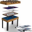 Table Multi Jeux Riley 4 en 1 (+ 8 jeux offerts)