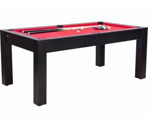 Billard convertible Guillaume 6 ft noir