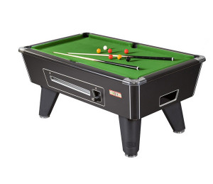 Billard Anglais Monnayeur Supreme Winner noir 7FT