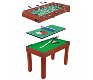 Table multi jeux 3 en 1