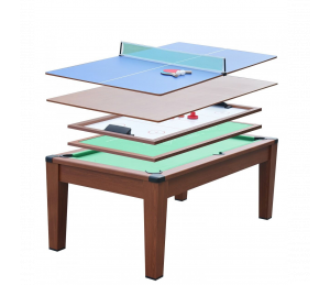 Table Multi jeux 5 en 1 / 6 FT
