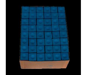 Boite de 144 craies Triangle bleues