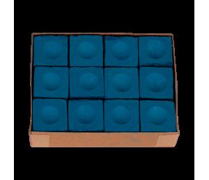 Boite de 12 craies Triangle bleues