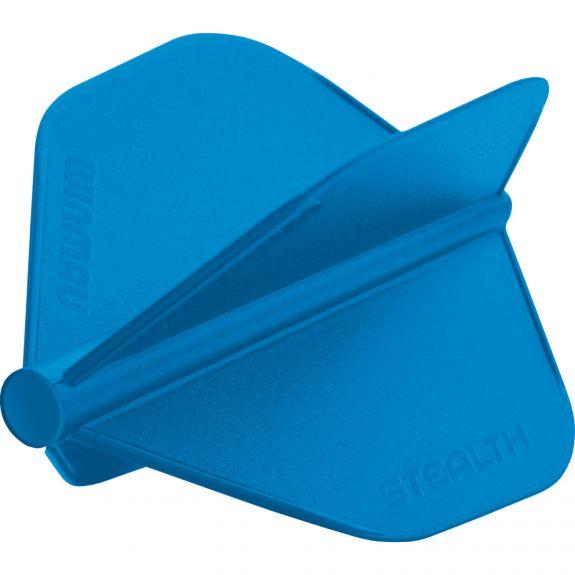 3 Ailettes Winmau Stealth bleues