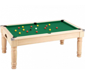 Billard convertible DPT Majestic Bois Clair 7FT