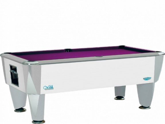 Billard Anglais SAM Atlantic Champion Blanc 7FT