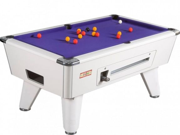Billard Anglais Monnayeur Supreme Winner Blanc 7FT