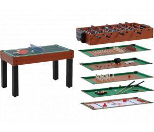 Table multi jeux billard Garlando 12 en 1