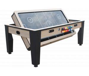 Table rotative Billard + Air Hockey industrielle