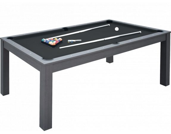 Billard convertible Garlando Miami Gris