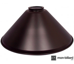 Abat-jour pour luminaire billard noir, 37 cm