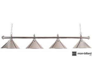 Luminaire Billard chromé, 180 cm