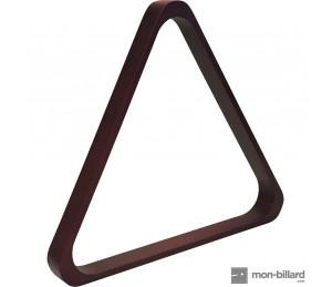 Triangle en acajou pour billes 57,2 mm