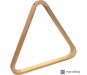 Triangle en érable clair pour billes 57,2 mm