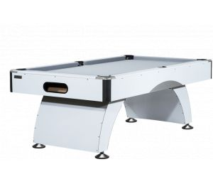 Billard Américain 7 ft Blanc Design