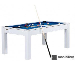 Billard table blanc