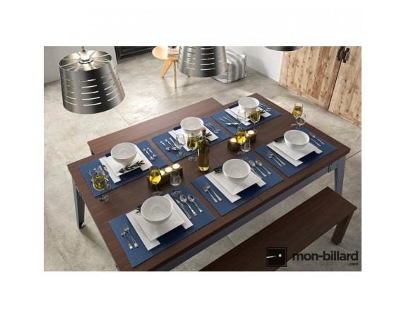 Plateaux tables René Pierre Steel (Mme Villa)