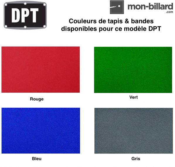 couleur tapis billard